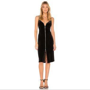 NWT Velvet Zipper Sheath Dress 7 For All Mankind